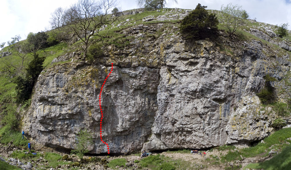 Trollers's Gill Topo