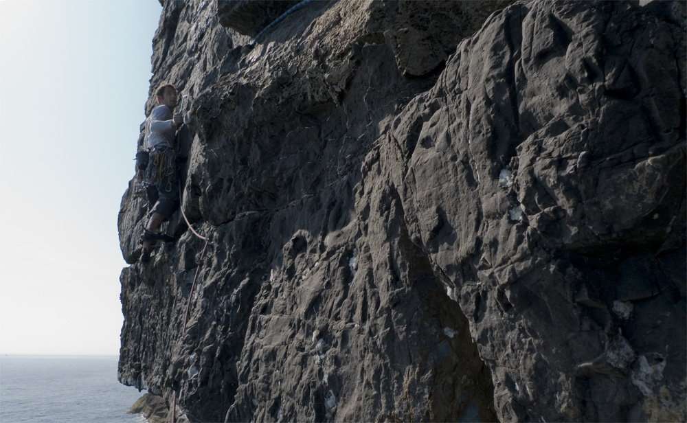 Jason Pickles 'questing' up the last pitch of Jew-Pac